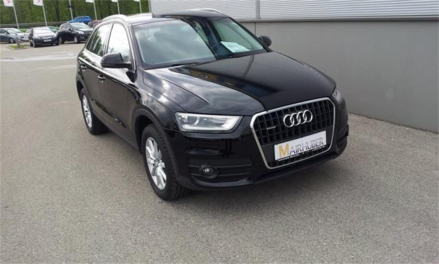 audi q3 2 0 tdi quattro daylight gebrauchtwagen 2014. Black Bedroom Furniture Sets. Home Design Ideas
