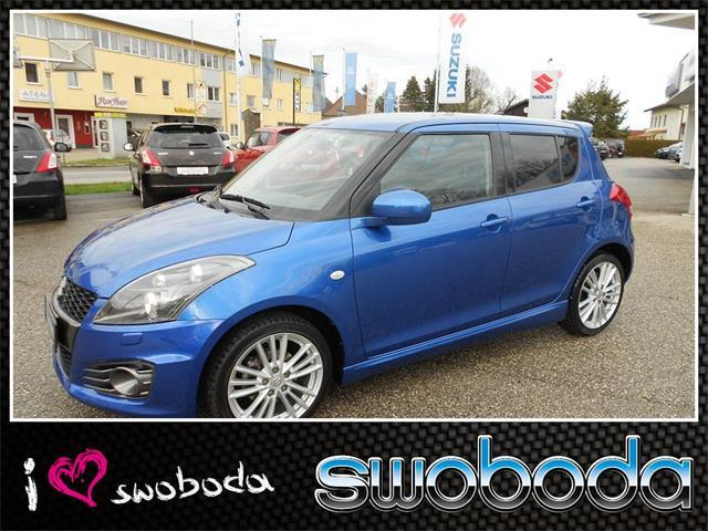suzuki swift 1 6 sport gebrauchtwagen 2015 oberweis. Black Bedroom Furniture Sets. Home Design Ideas