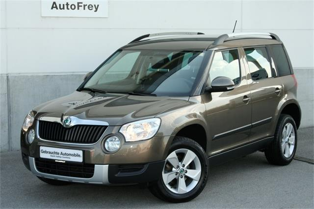 skoda yeti twenty active 1 2 tsi gebrauchtwagen 2011. Black Bedroom Furniture Sets. Home Design Ideas
