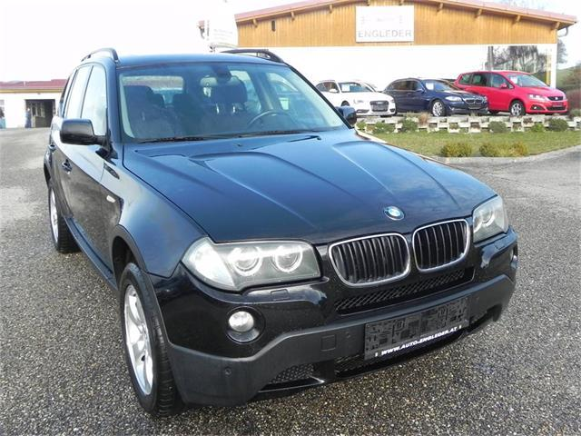 bmw x3 2 0d sterreich paket gebrauchtwagen 2007 putzleinsdorf. Black Bedroom Furniture Sets. Home Design Ideas