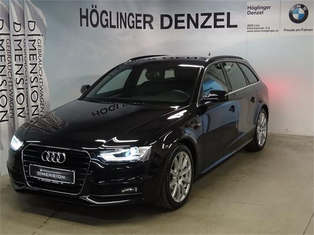 audi a4 avant 2 0 tdi quattro sport dpf s tronic. Black Bedroom Furniture Sets. Home Design Ideas